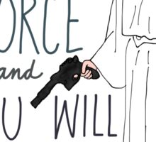 Rest In Peace Princess Leia Sticker