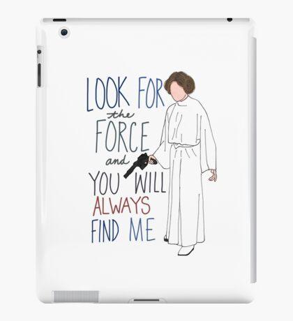 Rest In Peace Princess Leia iPad Case/Skin