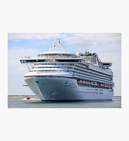 Cruise ship 13 Photographic Print