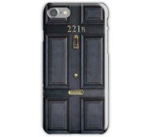 Sherlock 221b Baker st iPhone Case/Skin