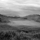 grey Ballybunion links golf course by morrbyte
