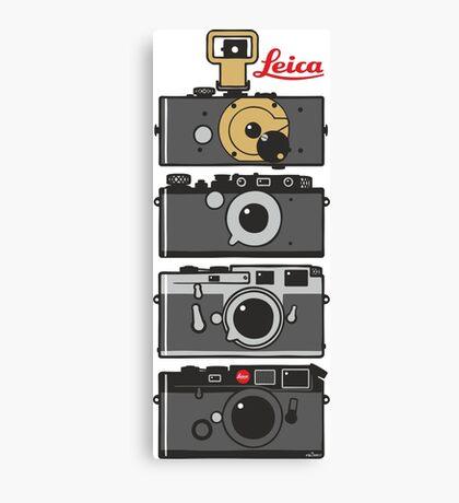 Leica camera evolution Canvas Print