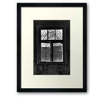 22.10.2014: Window View Framed Print