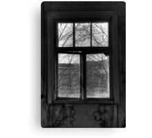 22.10.2014: Window View Canvas Print