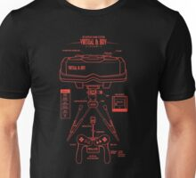 Virtual & Boy  Unisex T-Shirt