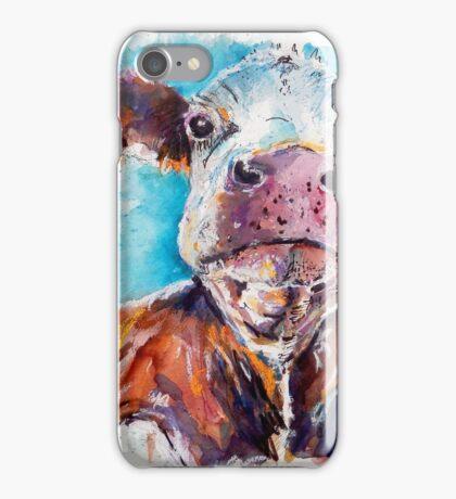 Optimistic Cow iPhone Case/Skin