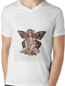 Fey Mens V-Neck T-Shirt