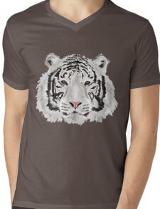 The White Tiger Shirt Mens V-Neck T-Shirt