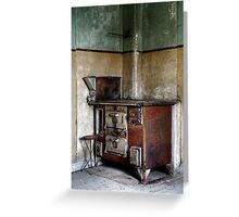 22.10.2014: Rusty Oven Greeting Card