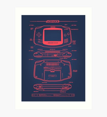 GB Advance Art Print