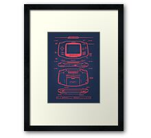 GB Advance Framed Print
