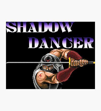 Shadow Dancer (Genesis Title Screen) Photographic Print