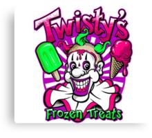 Twisty's Frozen Treats Canvas Print