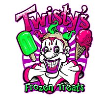 Twisty's Frozen Treats Photographic Print