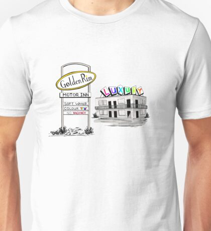 Golden Rim Motor Inn - The Luxury Unisex T-Shirt