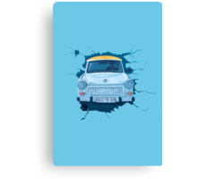 Berlin Wall - Trabant Canvas Print