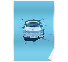Berlin Wall - Trabant Poster