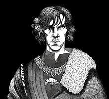 The Hollow Crown - Shakespeare's Richard III (b&w) by NadddynOpheliah
