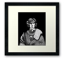 The Hollow Crown - Shakespeare's Richard III (b&w) Framed Print