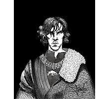 The Hollow Crown - Shakespeare's Richard III (b&w) Photographic Print