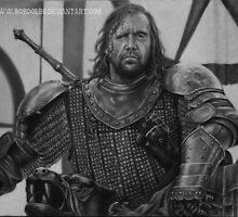 The Hound - Sandor Clegane by robdolbs