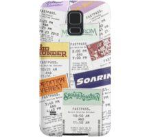 Disney Fastpass phone case featuring Maelstrom Samsung Galaxy Case/Skin