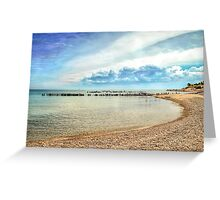 White Fish Point Paradise Greeting Card