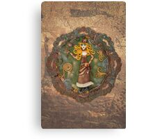 Steampunk Adventurer Canvas Print