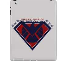 THRUTH JUSTICE THE AMERICAN WAY iPad Case/Skin