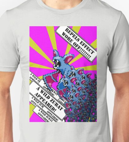 A wild Zubats appeared! Unisex T-Shirt