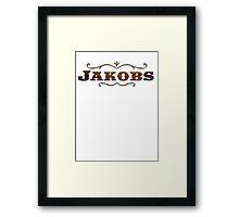 Jakobs Brand Rifles Framed Print