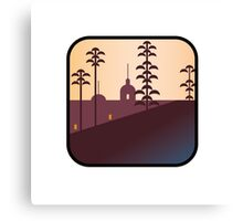 There's an app for that Hotel California Canvas Print