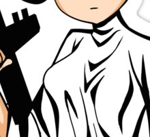 Sailor Leia Sticker