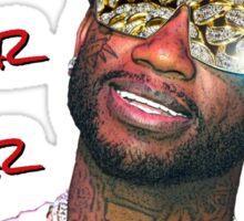 Gucci Mane Brrr Brrr Brrr Sticker