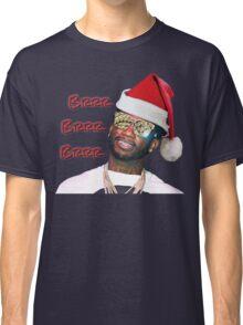 Gucci Mane Brrr Brrr Brrr Santa- Christmas Classic T-Shirt