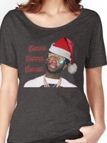 Gucci Mane Brrr Brrr Brrr Santa- Christmas Women's Relaxed Fit T-Shirt