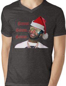Gucci Mane Brrr Brrr Brrr Santa- Christmas Mens V-Neck T-Shirt