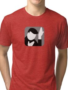 There's an app for that Heroes Tri-blend T-Shirt