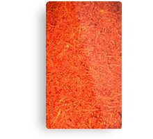 Hot Chips All Over Metal Print