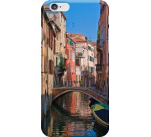 Italy. Venice. Reflection. iPhone Case/Skin