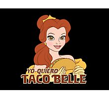Taco Belle Photographic Print