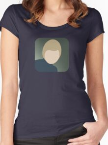 There's an app for that David Bowie Women's Fitted Scoop T-Shirt