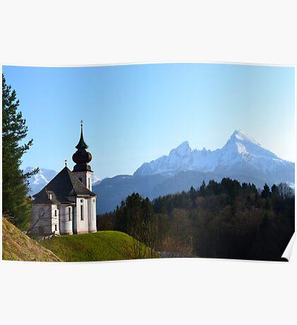 The Alpine Church Poster