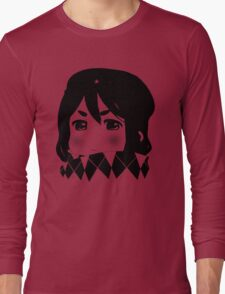 Mugi Revolution (Black Stencil) Long Sleeve T-Shirt