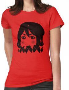 Mugi Revolution (Black Stencil) Womens Fitted T-Shirt