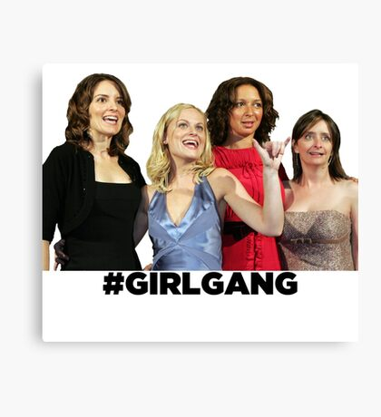 SNL Girl Gang's All Here Canvas Print