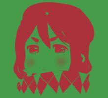 Mugi Revolution (Red Stencil) Kids Tee