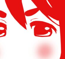 Mugi Revolution (Red Stencil) Sticker