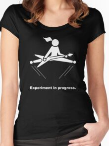 Experiment In Progress - Guitar (Clothing) Women's Fitted Scoop T-Shirt