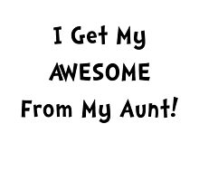 Awesome From Aunt by TheBestStore